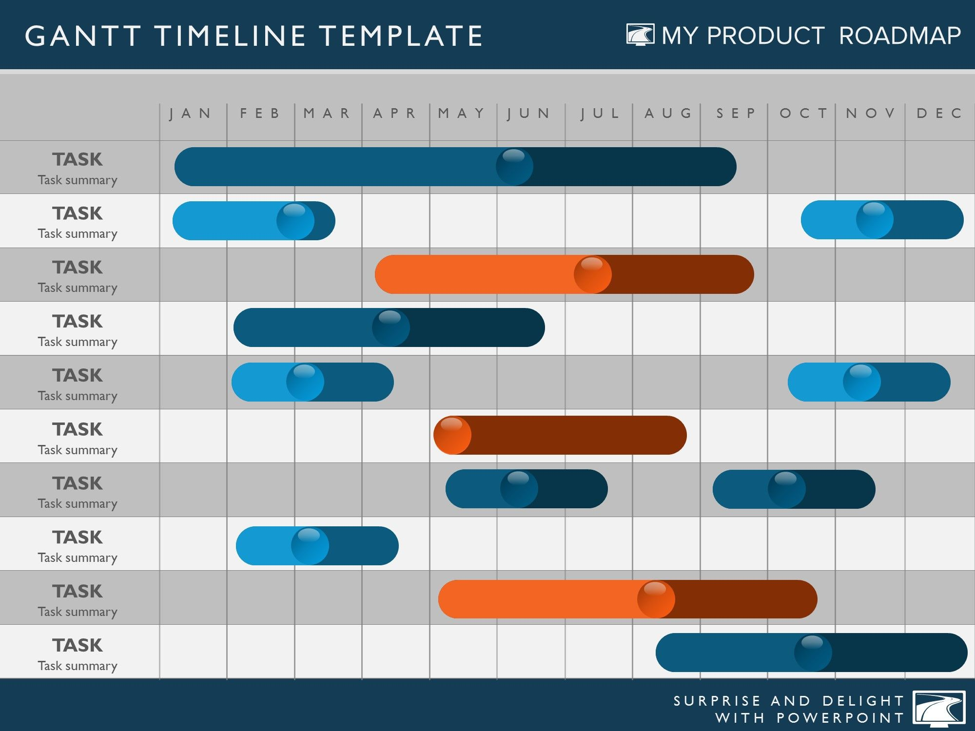 Timeline template my product roadmap products roadmap timeline template for powerpoint great project management tools to help you create a timeline to support your project plan toneelgroepblik Images