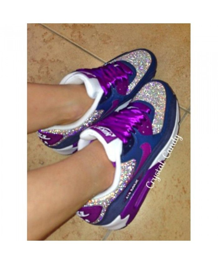 Chaussures Nike Air Max 90 Candy Crystal Violet Trainers