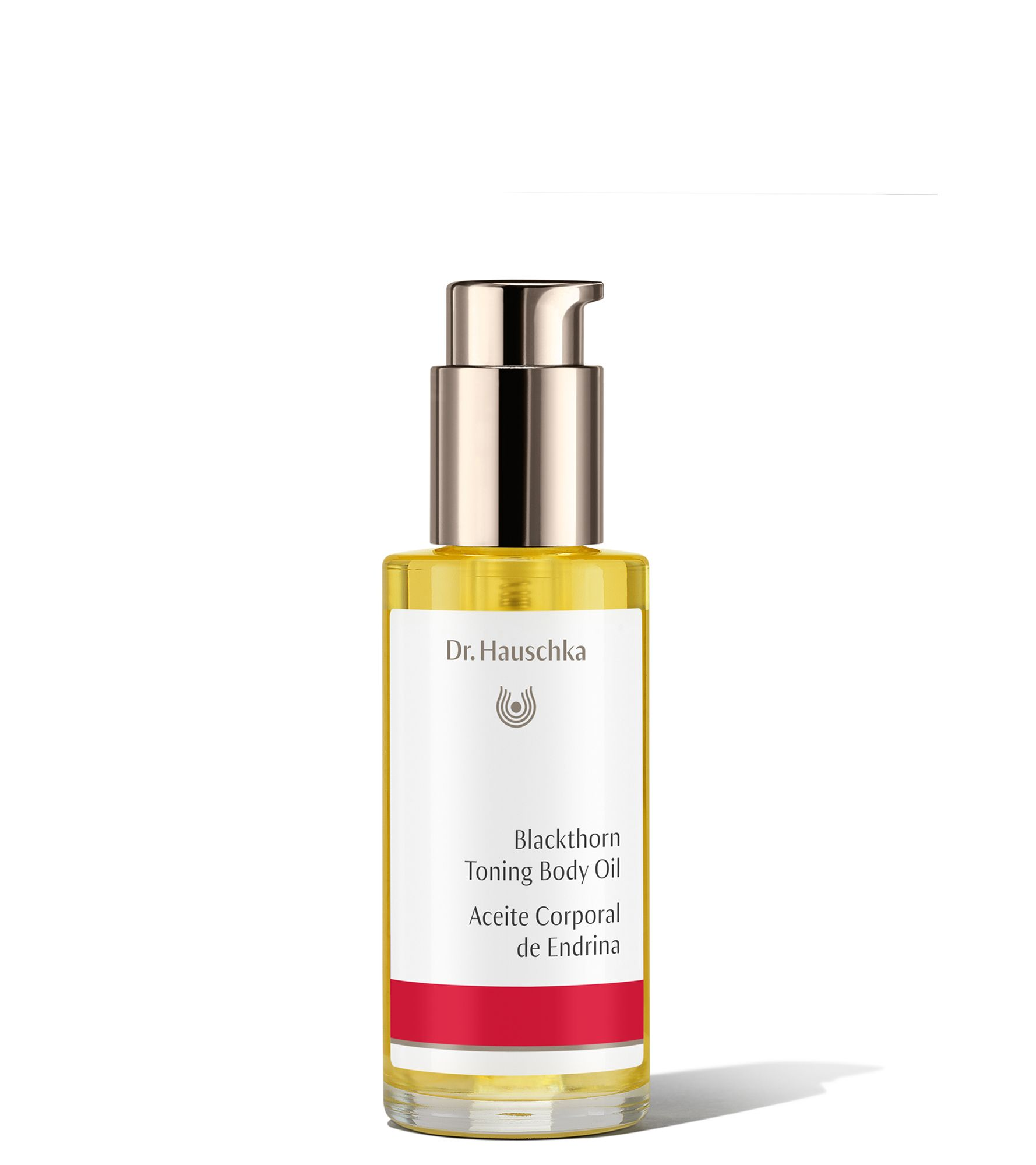 """Dr. Hauschka Blackthorn Toning Body Oil:  """"An elixir of blackthorn and birch leaf extract provides strength and protection to skin while helping to minimize the appearance of stretch marks. Even better? This oil works to firm and tone skin over time with continued use."""""""