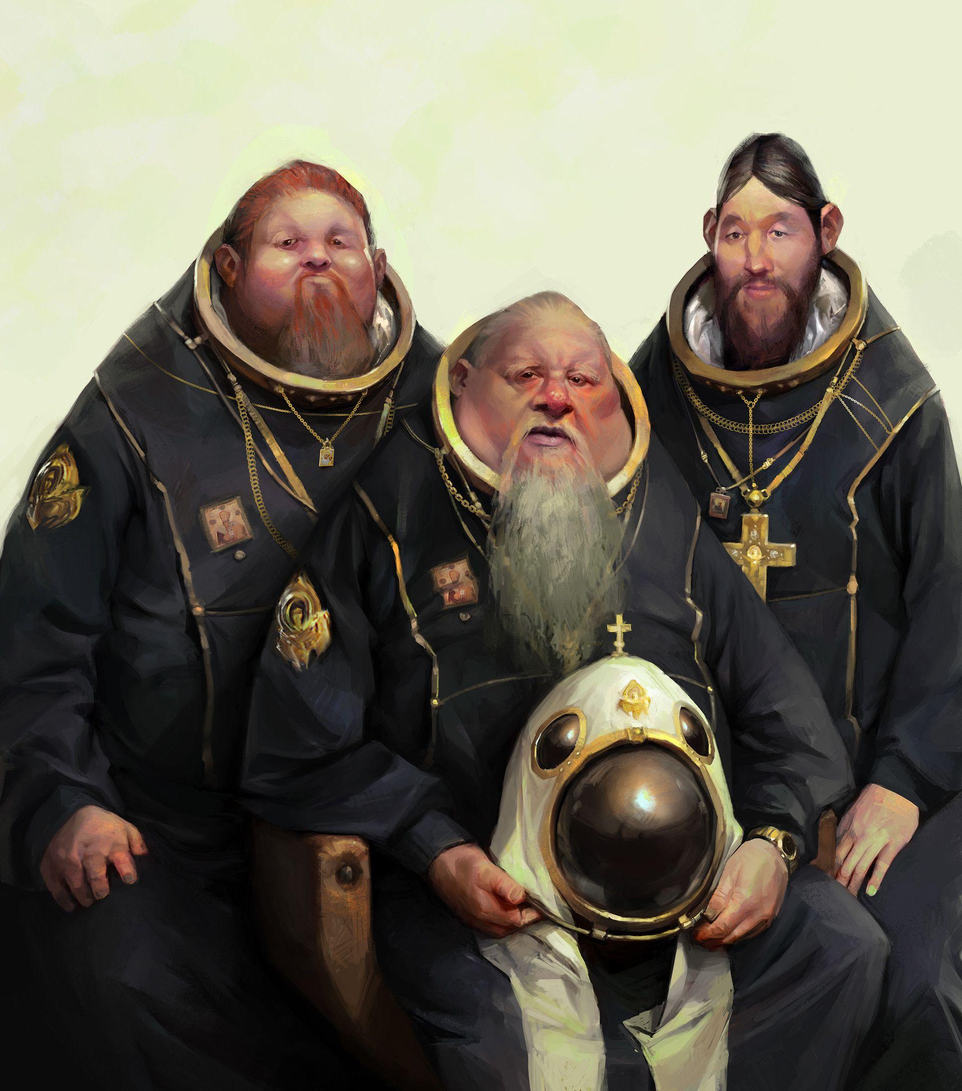 ArtStation - Orthodox Space Program, Vladimir Malakhovskiy