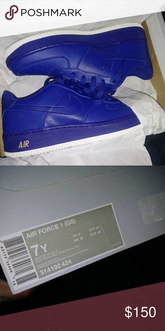 nike air force 1 bleu royal
