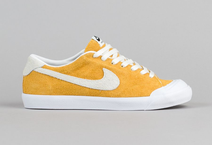 the latest 18b78 621ce Chaussure Nike SB Air Zoom All Court Cory Kennedy daim jaune (3)