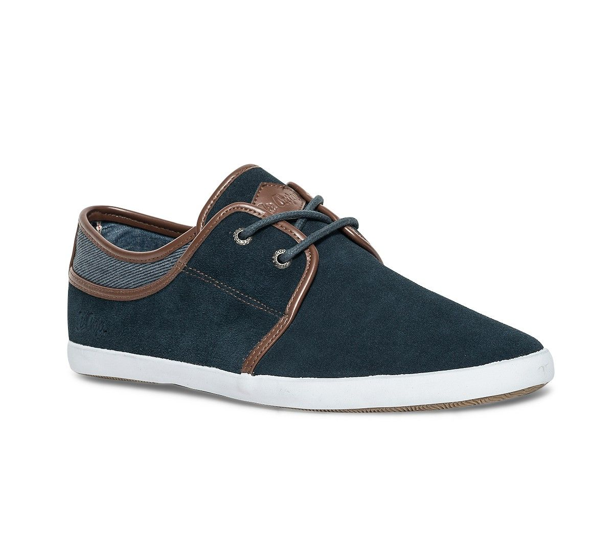Tennis Lee Cooper cuir bleue Baskets Tennis Chaussures