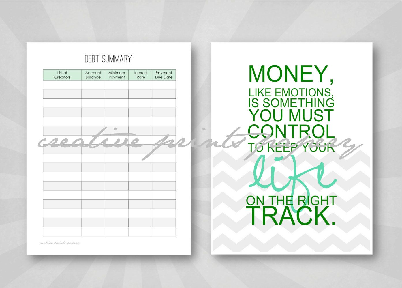 Editable Budget And Bill Pay Kit Money Management