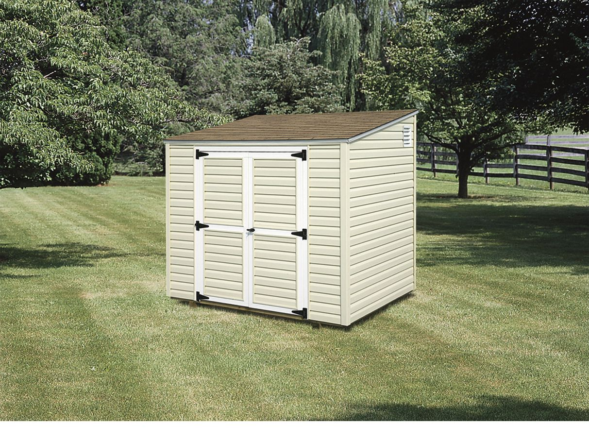 Storage sheds utility sheds lean to sheds 4x6 to 8x16 amish backyard structures - Garden sheds with lean to ...