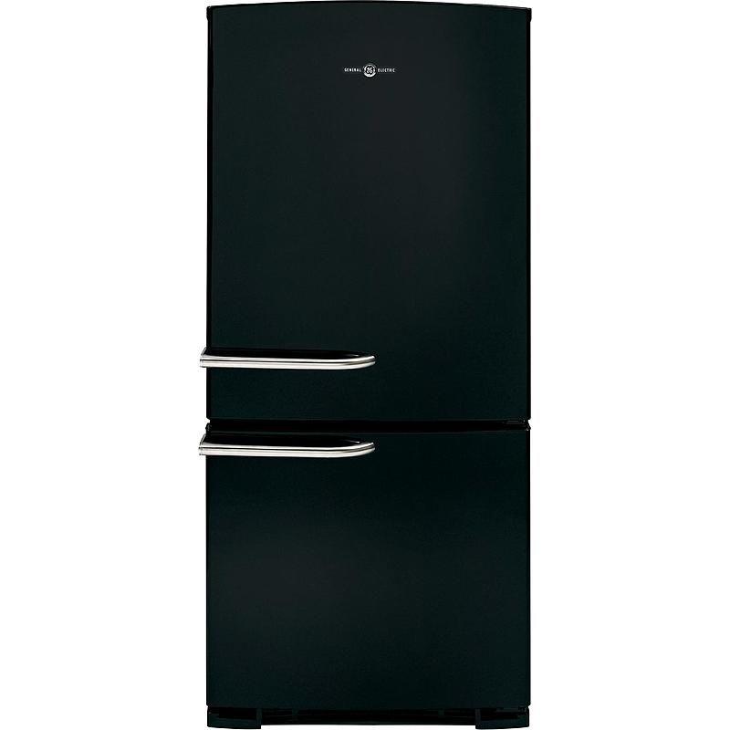 Ge Appliances Abe20egebs Artistry Series 20 3 Cu Ft Bottom Freezer Refrigerator Black Bottom Freezer Refrigerator Bottom Freezer Refrigerator