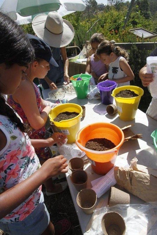 Garden Arts and Crafts Encinitas, California  #Kids #Events