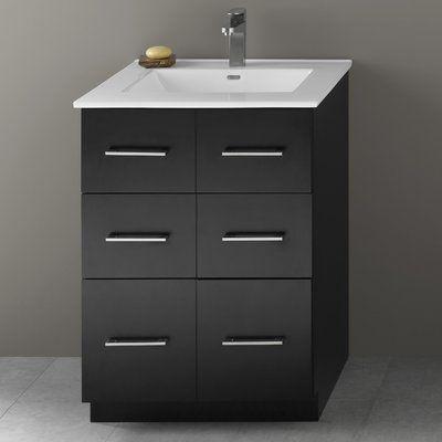 Single Bathroom Vanity Base