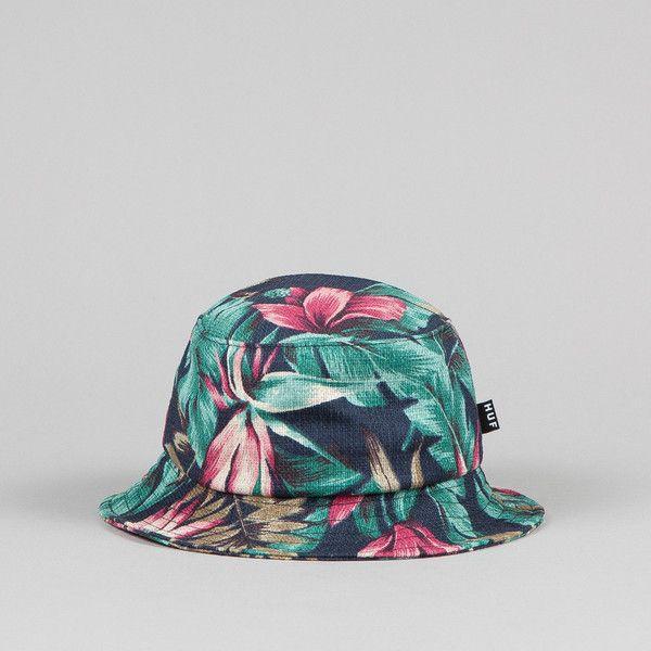 7a85fd46bd7 HUF Waikiki Bucket Hat Navy