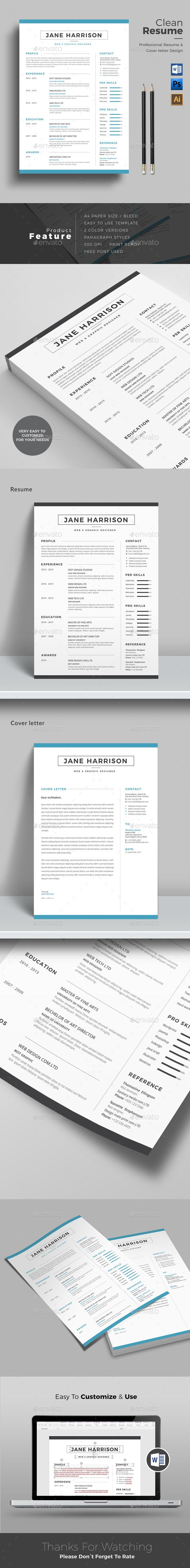 Resume Design In Ms Word  Simplest Ms Word Resume With Free