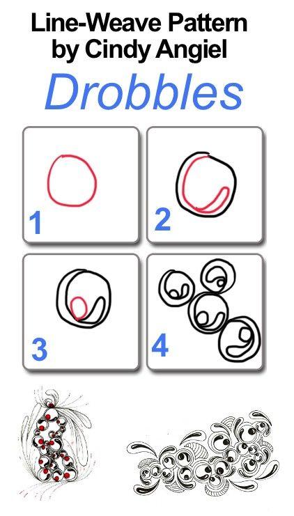 Zentangle patterns easy - Letter & Calendar Worksheets Templates ...