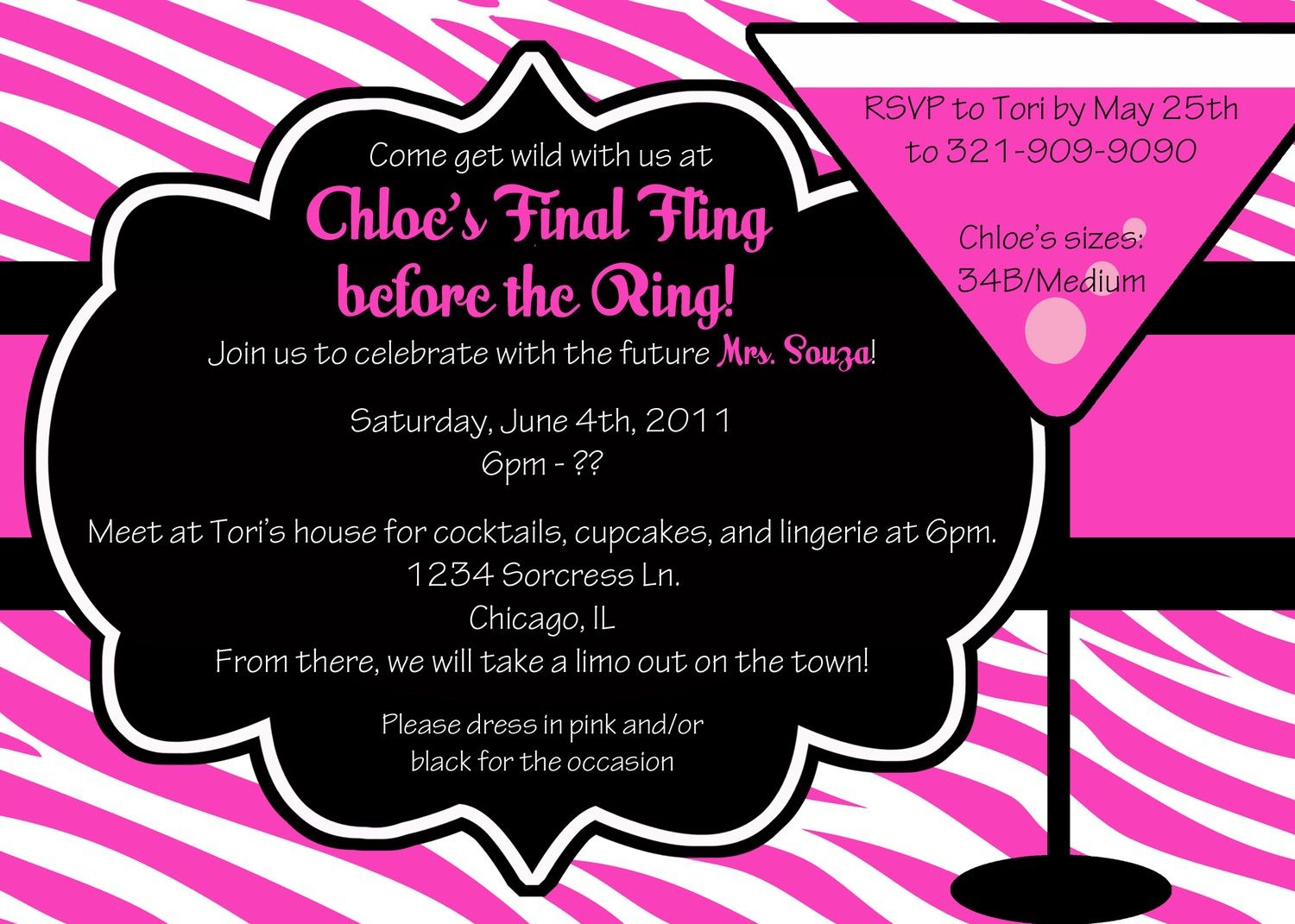 CoolNew Create Easy Bachelorette Party Invitation Ideas Check more ...