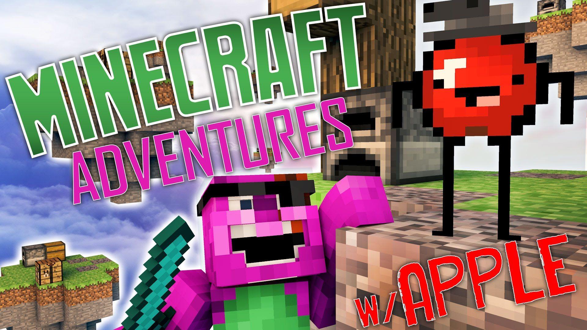 Minecraft Adventures w/ Apple APPLE IS CRAZY