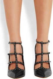 Givenchy Studded black-leather pumps
