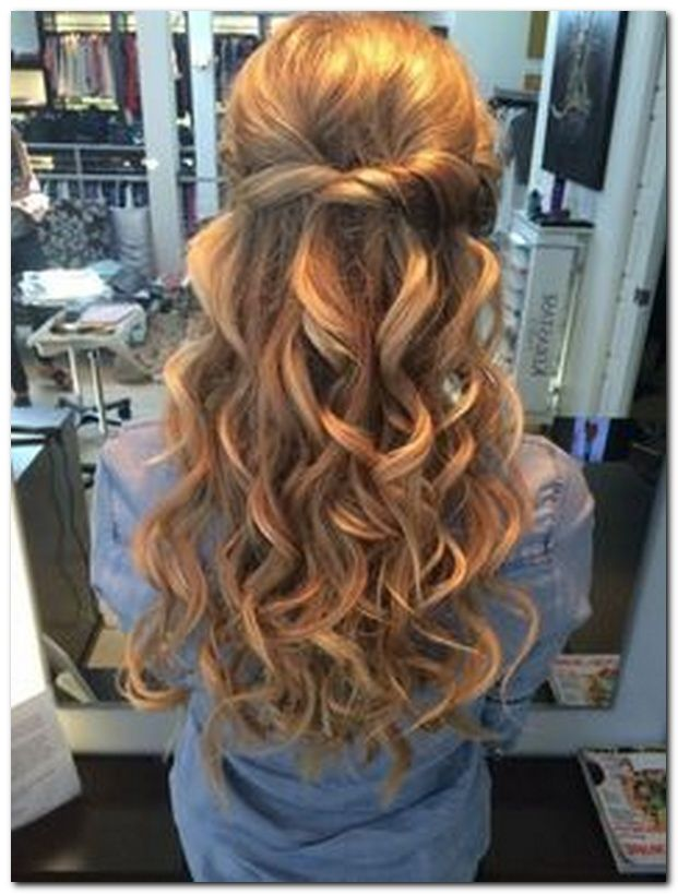 Easy Hairstyle Half Up Half Down Easy Hairstyles Pinterest
