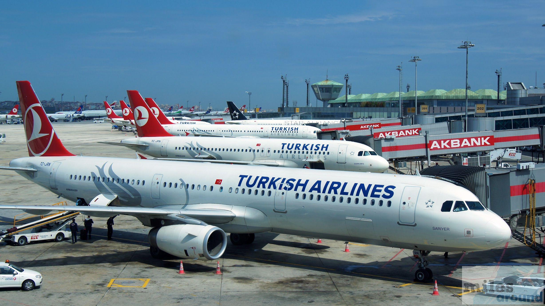 Turkish Airlines Comfort Class in der Boeing 777300ER