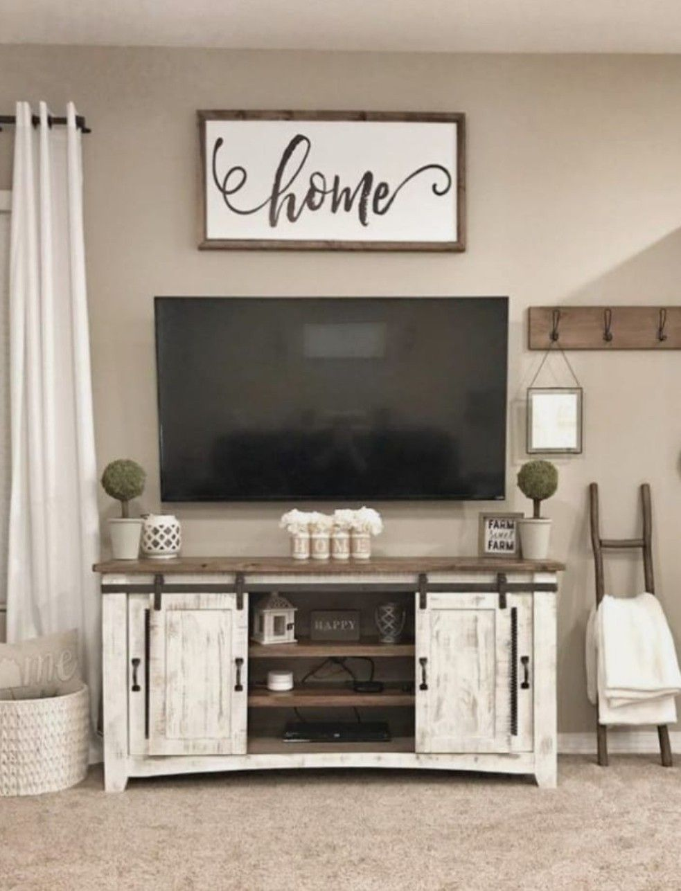 Need To Make This Sign For Above Tv In Lr Farm House Living Room Farmhouse Decor Living Room Living Room Makeover
