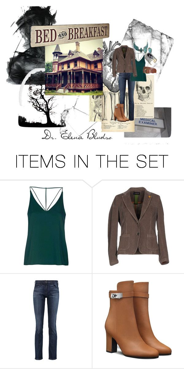 """""""Dr. Bludso"""" by themeadows on Polyvore featuring art"""