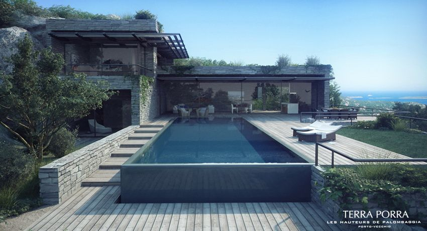 Talented Visualization Firm Studio Aiko Brings This Design By  Gottesman Szmelcman Into Such A State Of Being That Anyone Who Knows Corsica  Well Could Almost ...