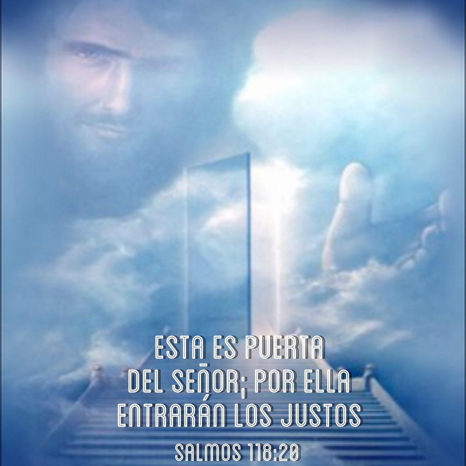 Esta es la puerta del Señor; por ella entraran los justos (Salmos 118:20)