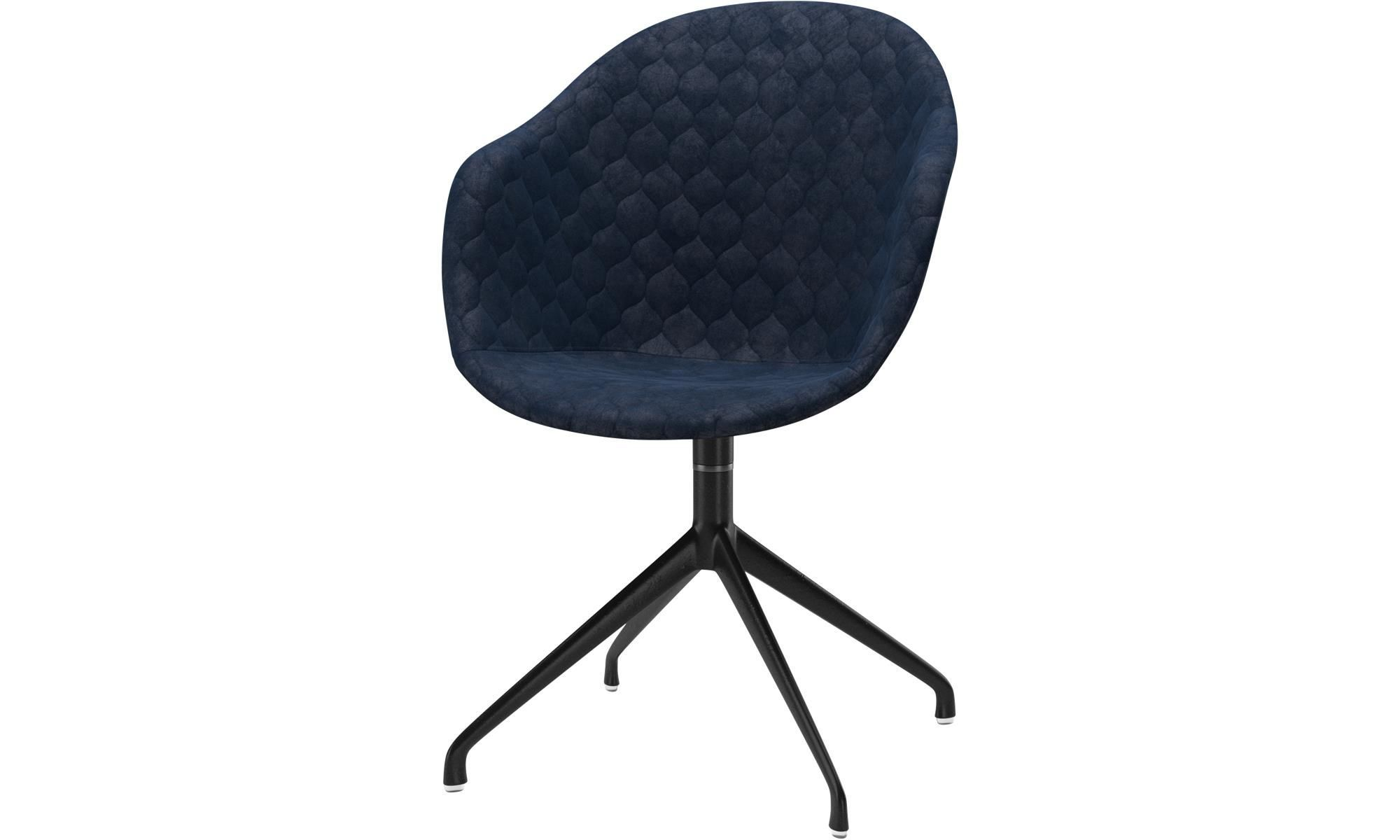 Dining Chairs Adelaide Chair With Swivel Function Blue