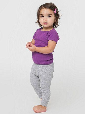 f7baec799 Infant Baby Thermal Legging | American Apparel | Baby Registry ...