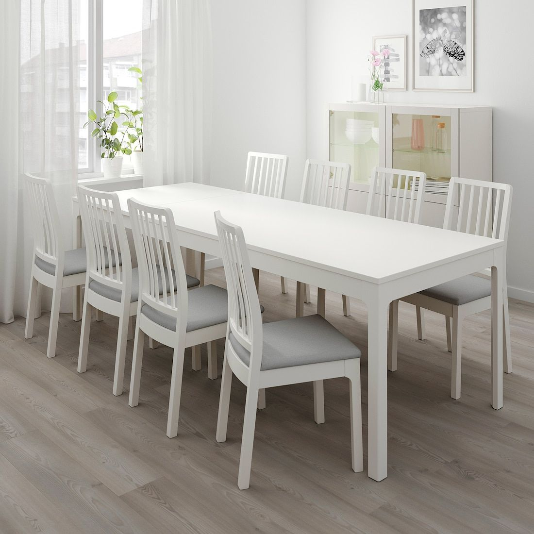 Ekedalen Extendable Table White Ikea Canada Ikea In 2020 Ikea Extendable Table White Kitchen Table Budget Friendly Living Room
