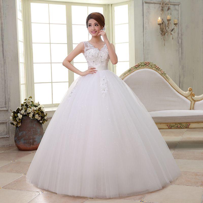 Vestidos de novia estilo princesa fotos