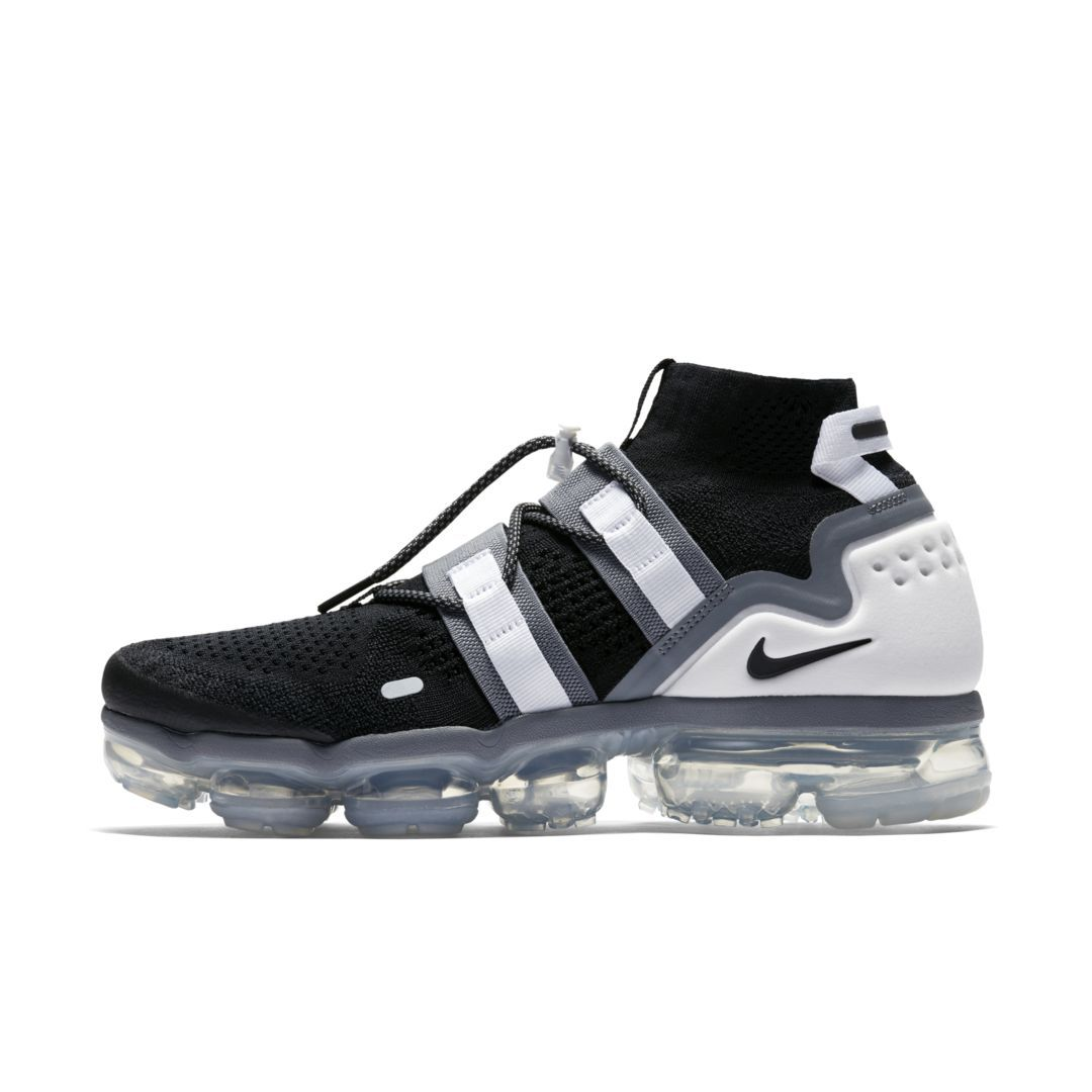 aac65d6d4860 Nike Air VaporMax Flyknit Utility Shoe Size 12.5 (Black)