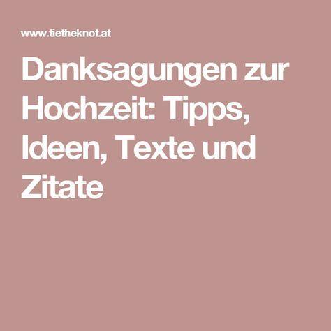 Danksagungen Zur Hochzeit Tipps Ideen Texte Und Zitate Zitate Hochzeit Dankeskarten Hochzeit Text Hochzeit Danke