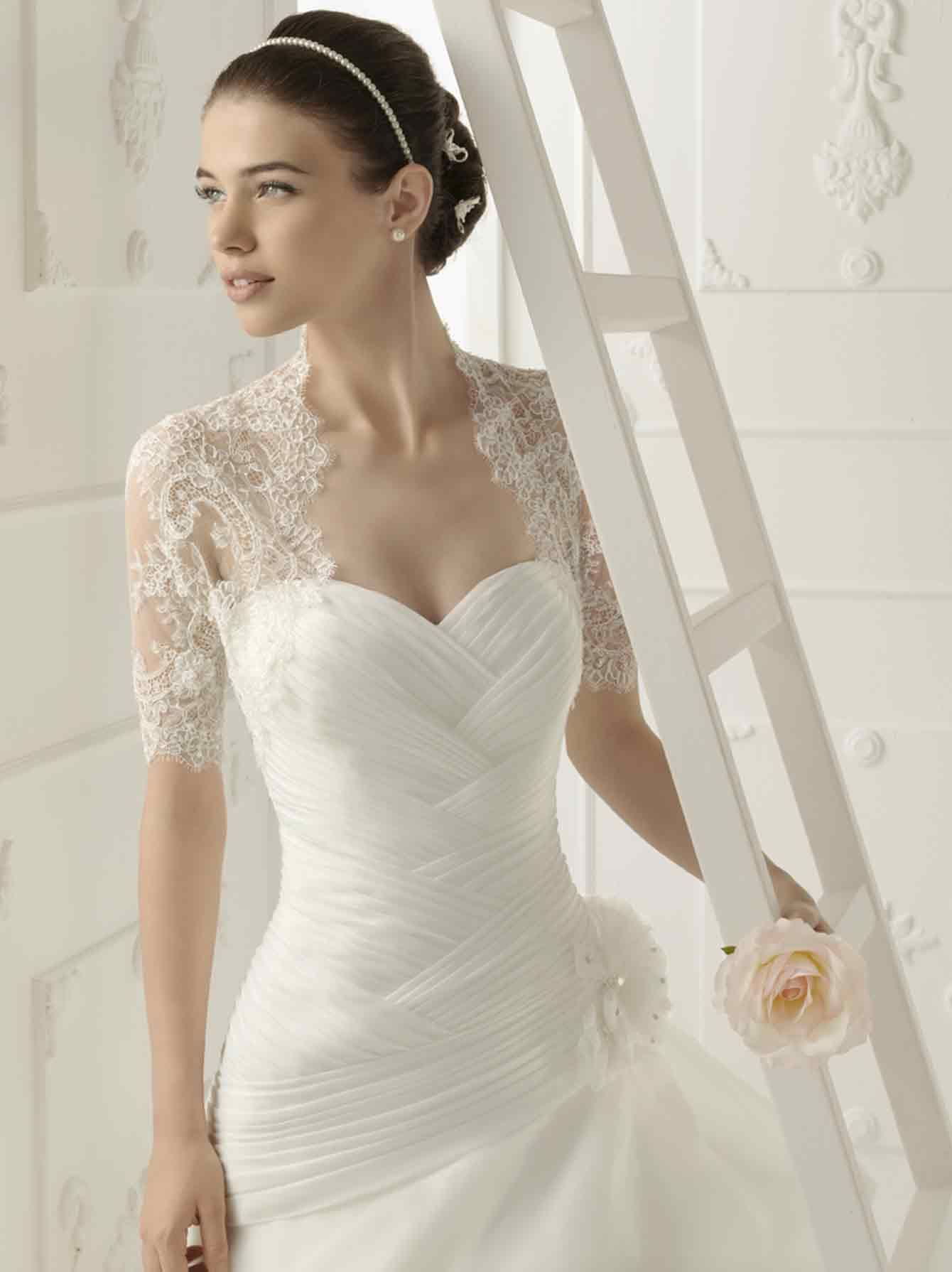 Dress with jacket for wedding  Vestidos noiva de Aire  Wedding Dress  Pinterest  Wedding dress