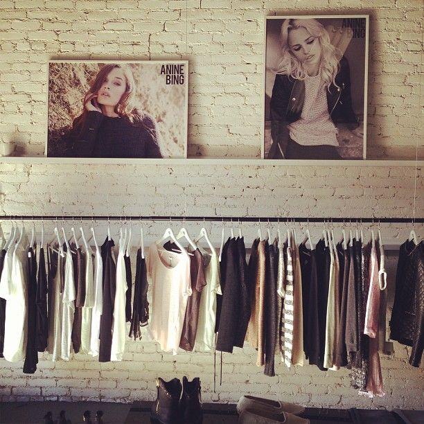 Anine Bing Showroom La Wardrobe Rack Anine Bing Wardrobe