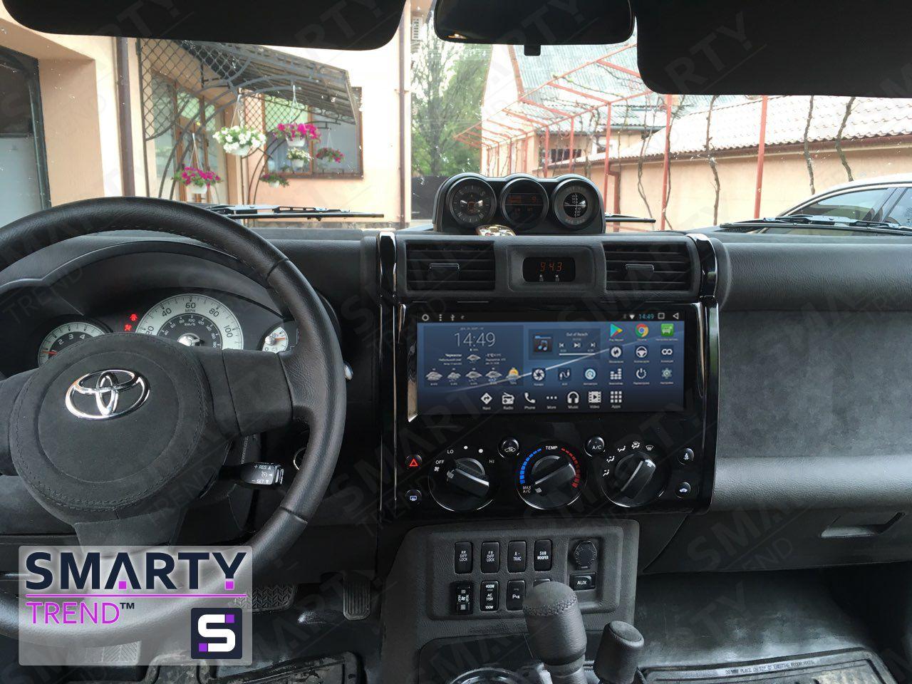 Toyota Fj Cruiser Android Car Stereo Navigation In Dash Head Unit In 2020 Fj Cruiser Toyota Fj Cruiser Fj Cruiser Mods