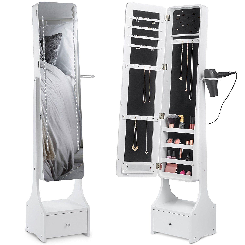 Schmuckschrank Mit Spiegel Und Led Beleuchtung Fur Dein Zimmer 3 Mebel Iz Fanery Idei Dlya Doma Dizajn