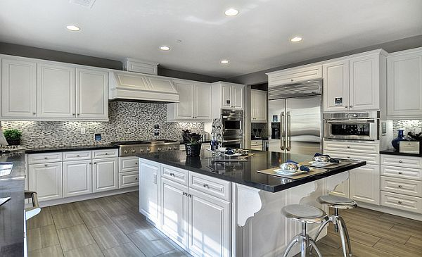 White Cabinets. Surprised I Like This Kitchen. I Usually