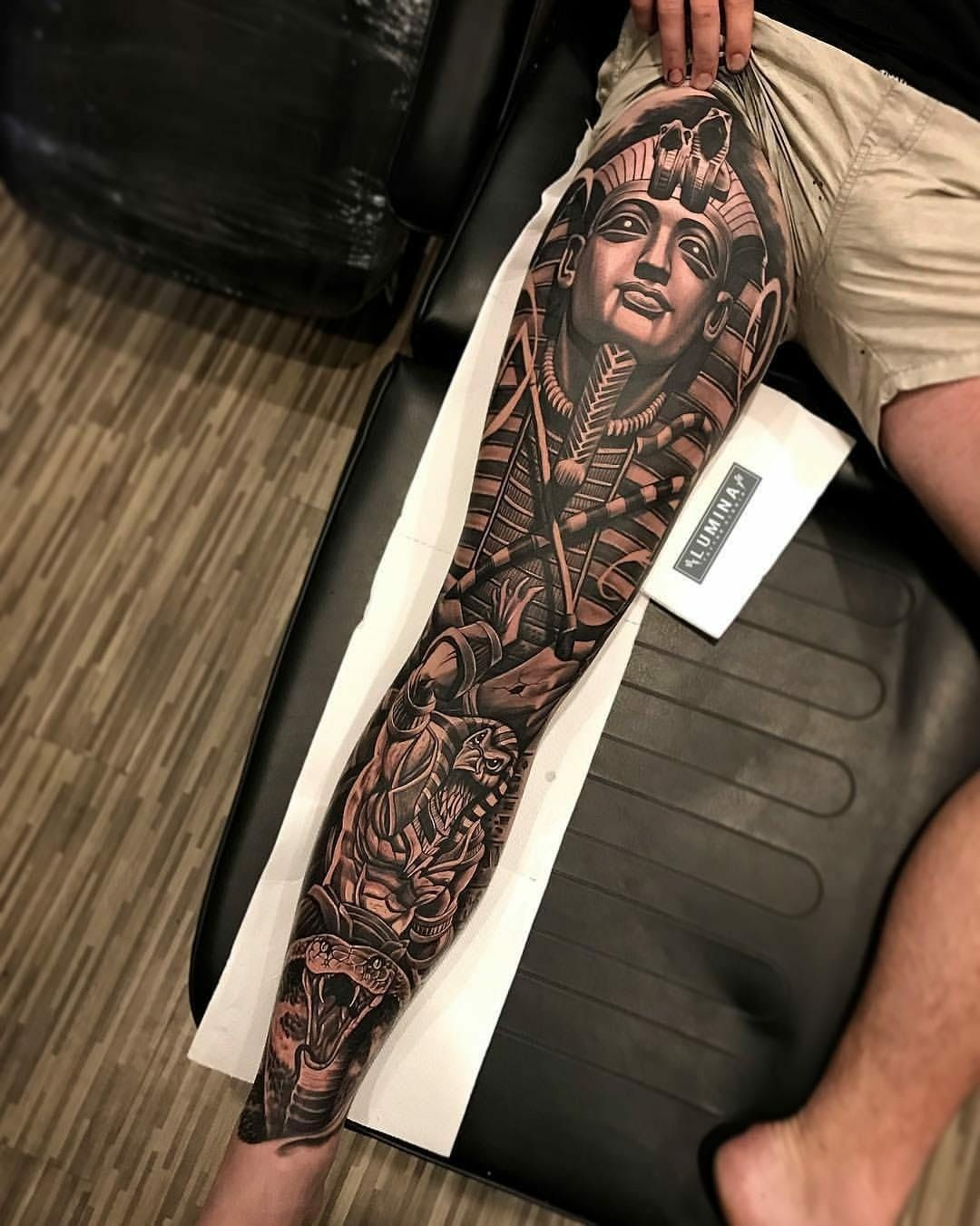 Pin By Assaf Hemmo On Ideas For Tattoos Egyptian Tattoo Sleeve Leg Tattoos Egyptian Tattoo