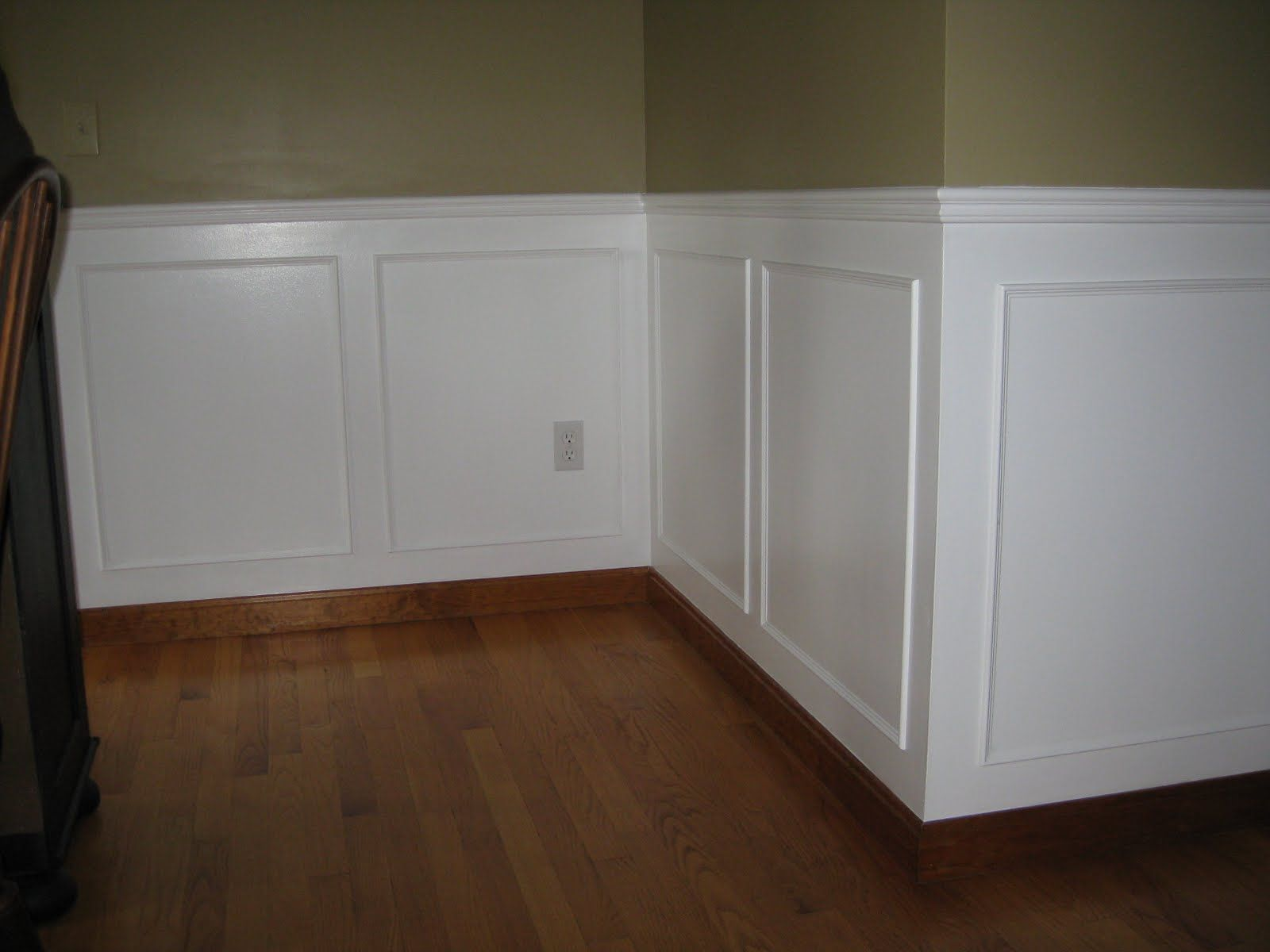 Wall Panel Trim On Picking Up Nickels Moulding