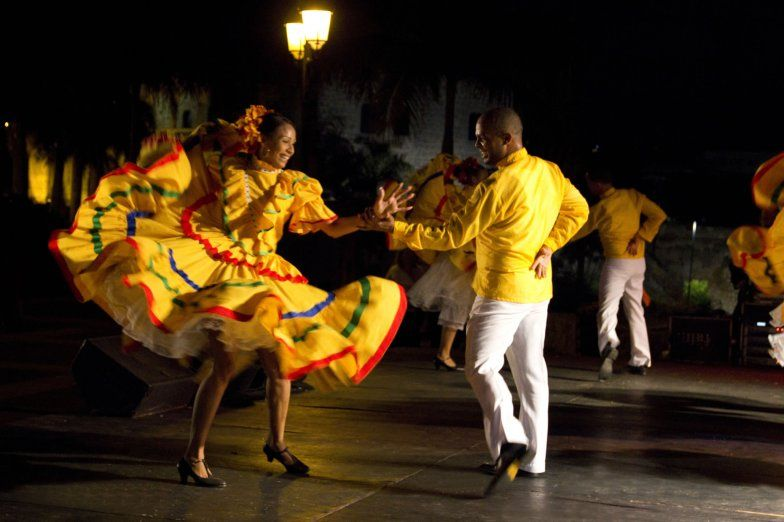 Dominican Republic's National Folklore Dance to Merengue!