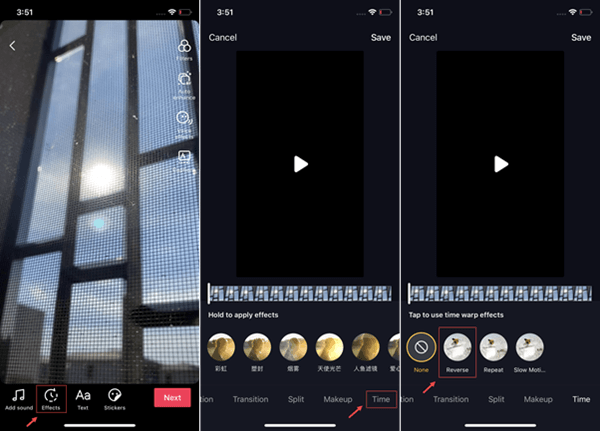 How To Put A Tiktok Video In Reverse Video Editing Software Video Editing Video