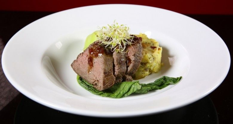 Beef Eye Fillet and Bok Choy