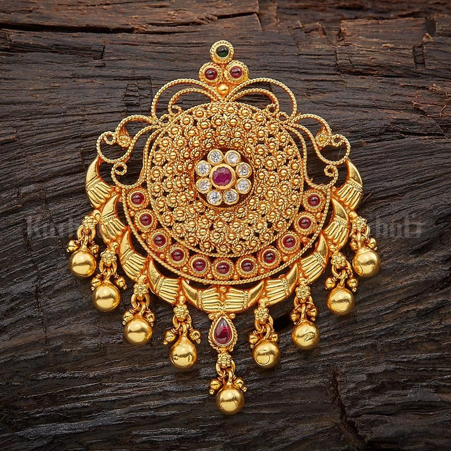 Silver Temple Pendant 20 – Kushal's Fashion Jewellery   Gold ...