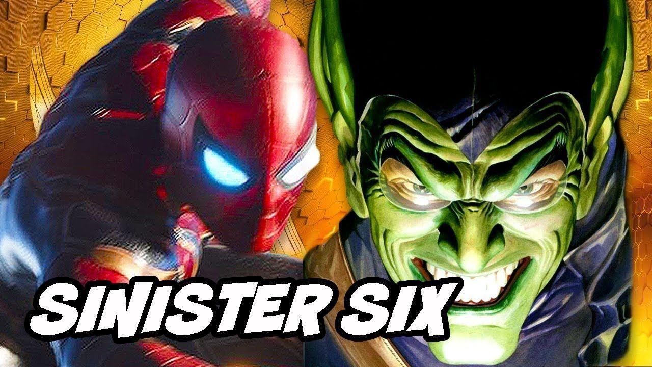 spider-man far from home sinister six scene easter egg | spiderman