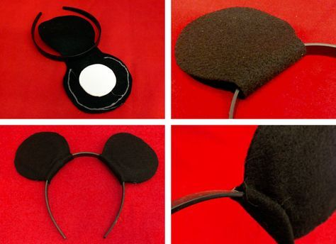 Welp diadeem mickey mouse oren maken | Mickey mouse knutselen, Mickey GR-57