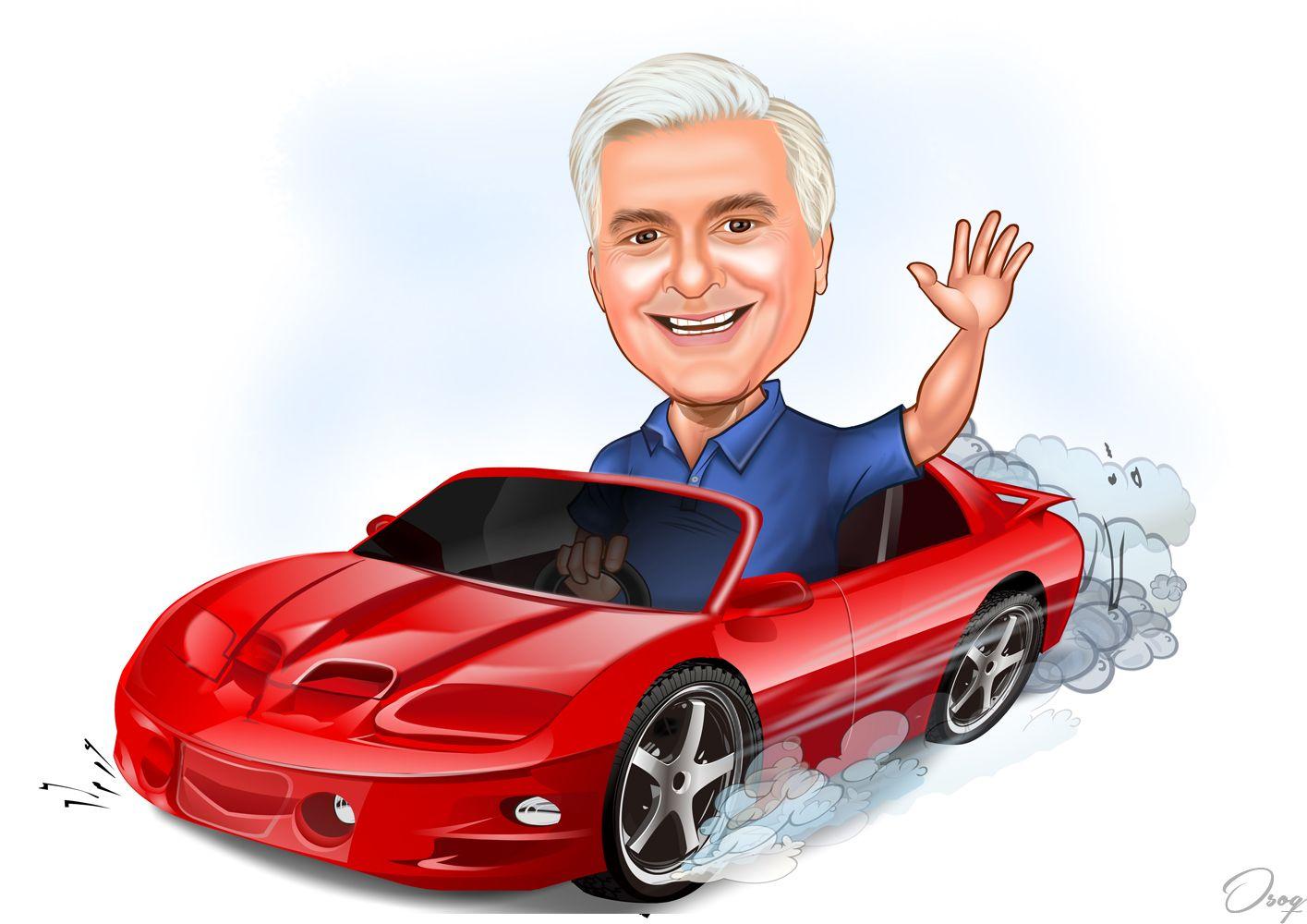 Sports Car Cartoon Car Cartoon Caricature Cartoon