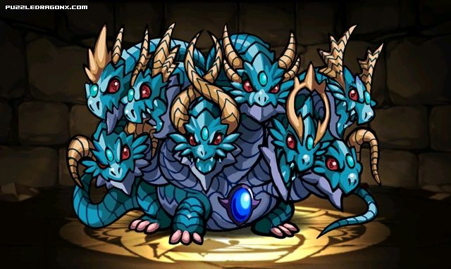 Demon Viper Orochi stats, skills, evolution, location | Puzzle & Dragons…
