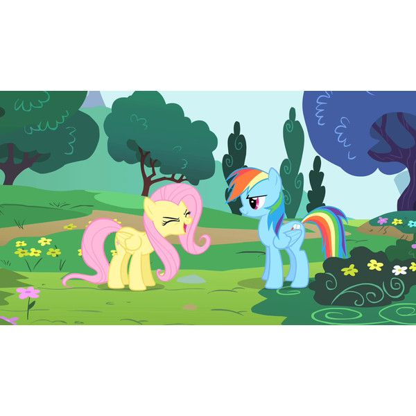 1000px-Fluttershy_saying_yay_S1E16.png 1,000×563 pixels ❤ liked on Polyvore