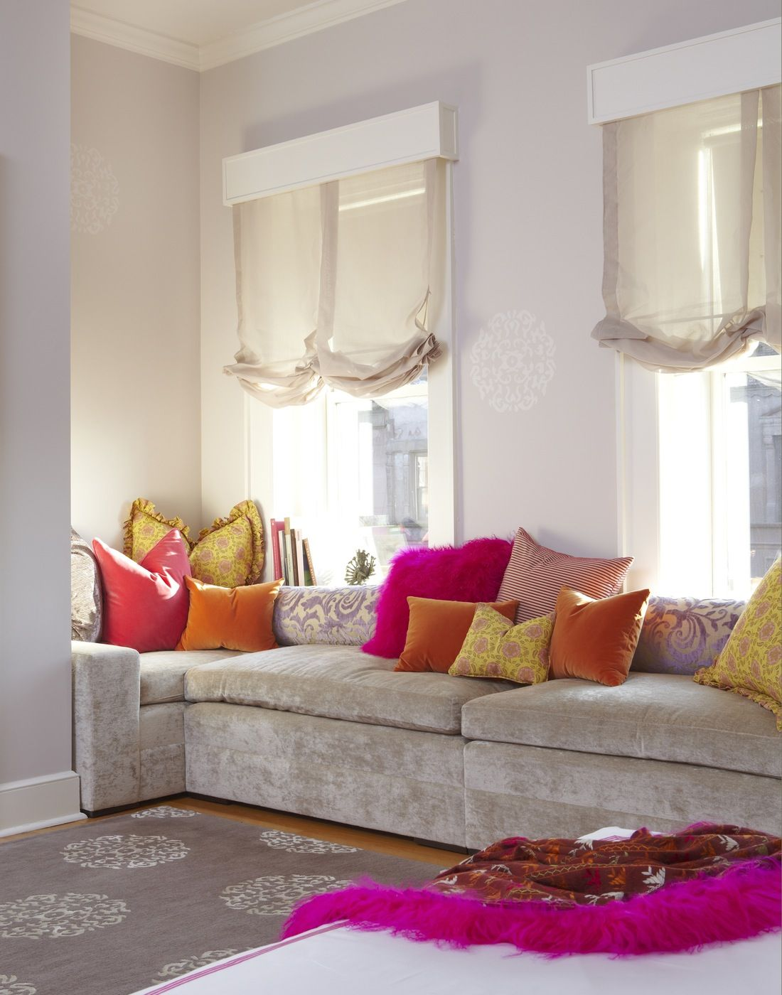 Townhouse Living Room Design: Interior Design In New York City By Brett Design