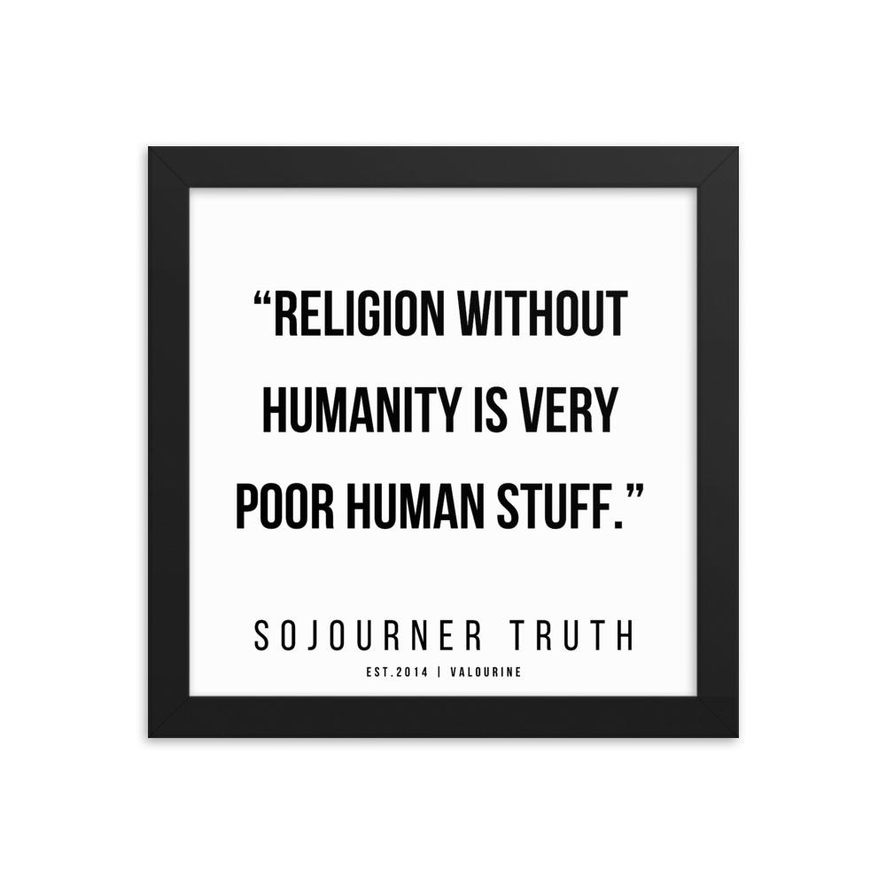 12    | Sojourner Truth | Sojourner Truth Quotes |  200612  Framed Prints |