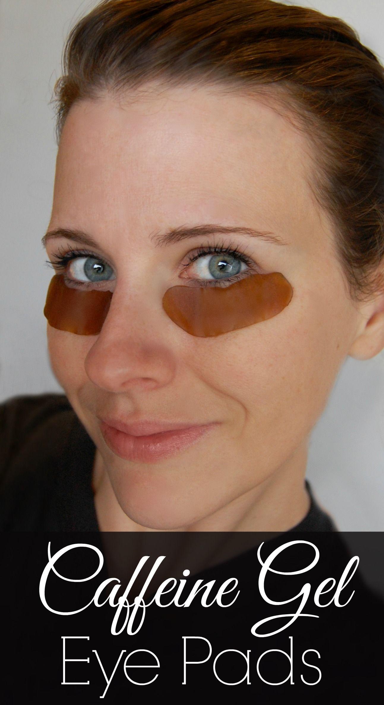 Caffeine Gel Eye Pads Puffy eyes, Beauty care, Reduce