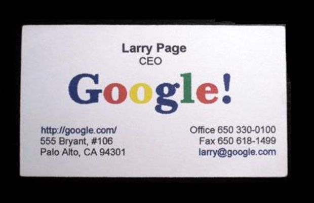 25 Awesome Business Cards From The World S Most Successful People